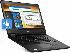 PC portable DELL Latitude E7480 Tactile FHD 1920X1080 8Go / 256 SSD grade B