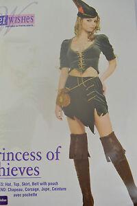 Rubies-Secret-Wishes-Princesa-Of-Thieves-Disfraz-de-Halloween-Fiesta-Despedida