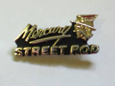 Automobilia Mercury Anstecker Mercury Street Rod Anstecker Auto silberfarben Accessoires & Fanartikel