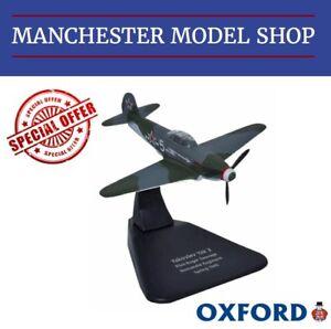 Oxford-Diecast-AC054-1-72-Yakovlev-Yak-3-Regimiento-1945-nuevo-aclaramiento-Normandie