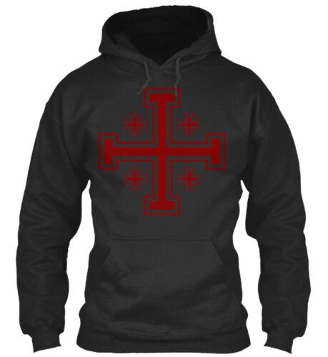 Crusader Cross Logo Standard College Hoodie