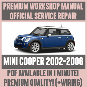 WORKSHOP-MANUAL-SERVICE-amp-REPAIR-GUIDE-for-MINI-COOPER-2002-2006-WIRING