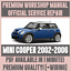 WORKSHOP-MANUAL-SERVICE-amp-REPAIR-GUIDE-for-MINI-COOPER-2002-2006-WIRING thumbnail 1