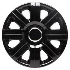 Torque 14 Inch Wheel Trim Set Gloss Black Set of 4 Hub Caps Covers By TopTech