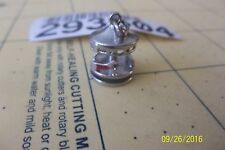 Sterling Silver 3D Articulated Moveable Carousel Merry Go Round Charm