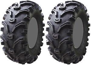 Pair-2-Kenda-Bearclaw-24x9-11-ATV-Tire-Set-24x9x11-K299-24-9-11
