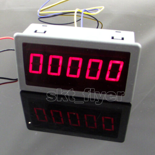 "0.56/"" Red LED Digital Counter /& Timer /& Meter count Three Function DC 12-24V"