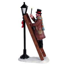 Lemax Decoration Lamplighter, Victorian Figure, Xmas Cake Decorating Christmas
