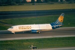 CIVIL AIRCRAFT PHOTO HELIOS PLANE PHOTOGRAPH BOEING 737 PICTURE 5B-DBG AIRLINER.