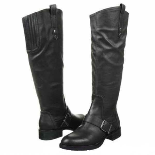 Nuevo Para mujeres Circo  Roman  - fue  90  - Tamaño 6.5 Negro Knee-High bota