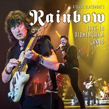 Live in Birmingham 2016 by Rainbow/Ritchie Blackmore (CD, Jun-2017, 2 Discs, Eagle Rock)