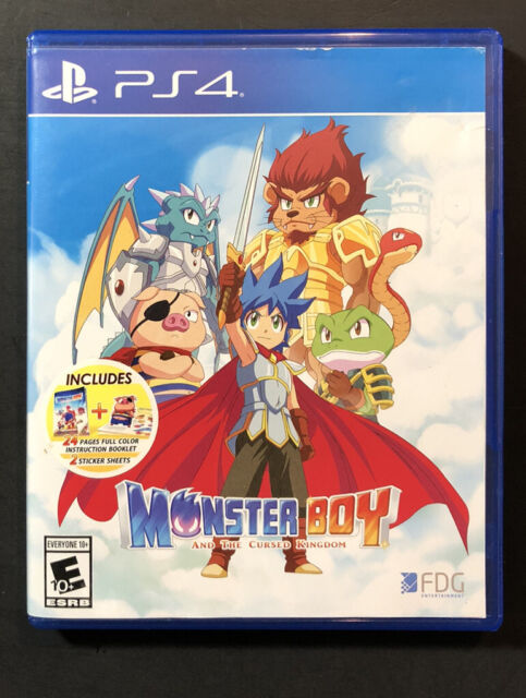 Monster Boy And The Maudit Kingdom (PS4) Usé
