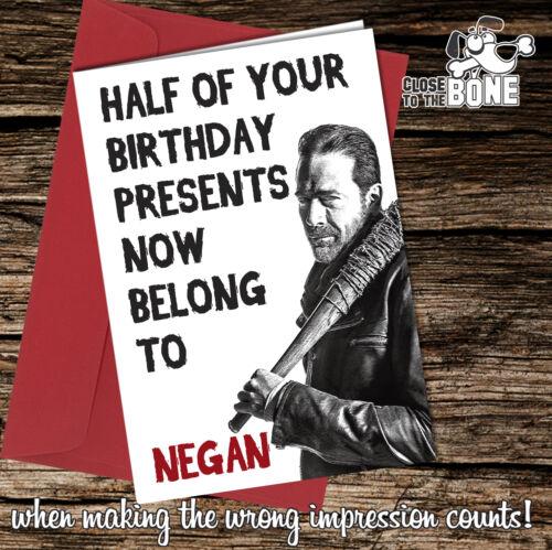 Birthday Greeting Cards funny rude cheeky joke humorous Close to the Bone