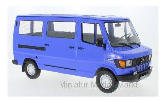KK-Scale Mercedes 208D Bus - blue - 1988 - - - 1 18 0954f4