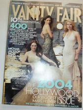 Vanity Fair Magazine Michael Jackson & Hollywood Issue March 2004 030515R2