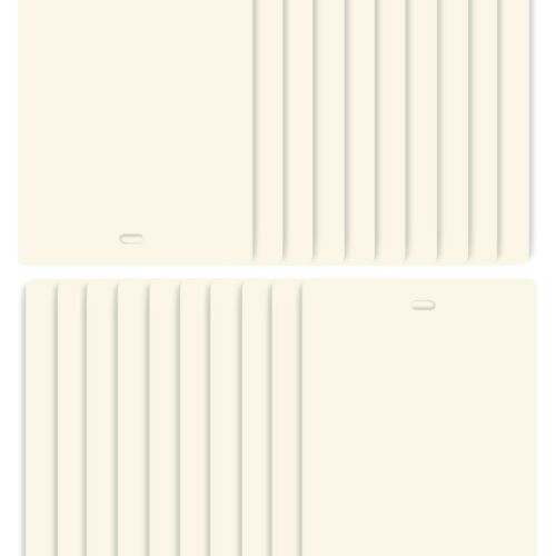 Vertical Blind Slats Vanes Replacement Blinds Ivory 98.5 x 3.5 FREE SHIPPING