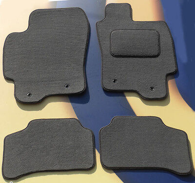 For Jaguar S-Type 2002-2008 Fully Tailored 4 Piece Car Mat Set 4 Ring Clips