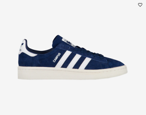 NEW Men's Adidas Originals Campus shoes Sneakers Size  10 color  bluee