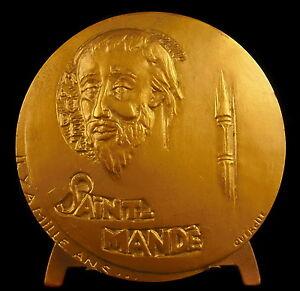 Medaille-a-Saint-Mande-et-la-ville-sc-Querolle-citation-de-Paul-Giannoli-medal