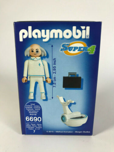 X ab 5 Jahren Größe 7,5cm orig verpackt # F400 Playmobil 6690 Super 4 Dr