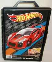 Hot Wheels 48 Car Carrying Case 1:64 Storage Portable Vehicle Made In Usa