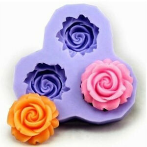 Soft decorating cake fondant mold silicone sugar craft baking purple