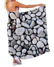 quijarros diseño Chiffon SARONG TRAJE DE BAÑO Beach Vestido Playero Envoltura XL