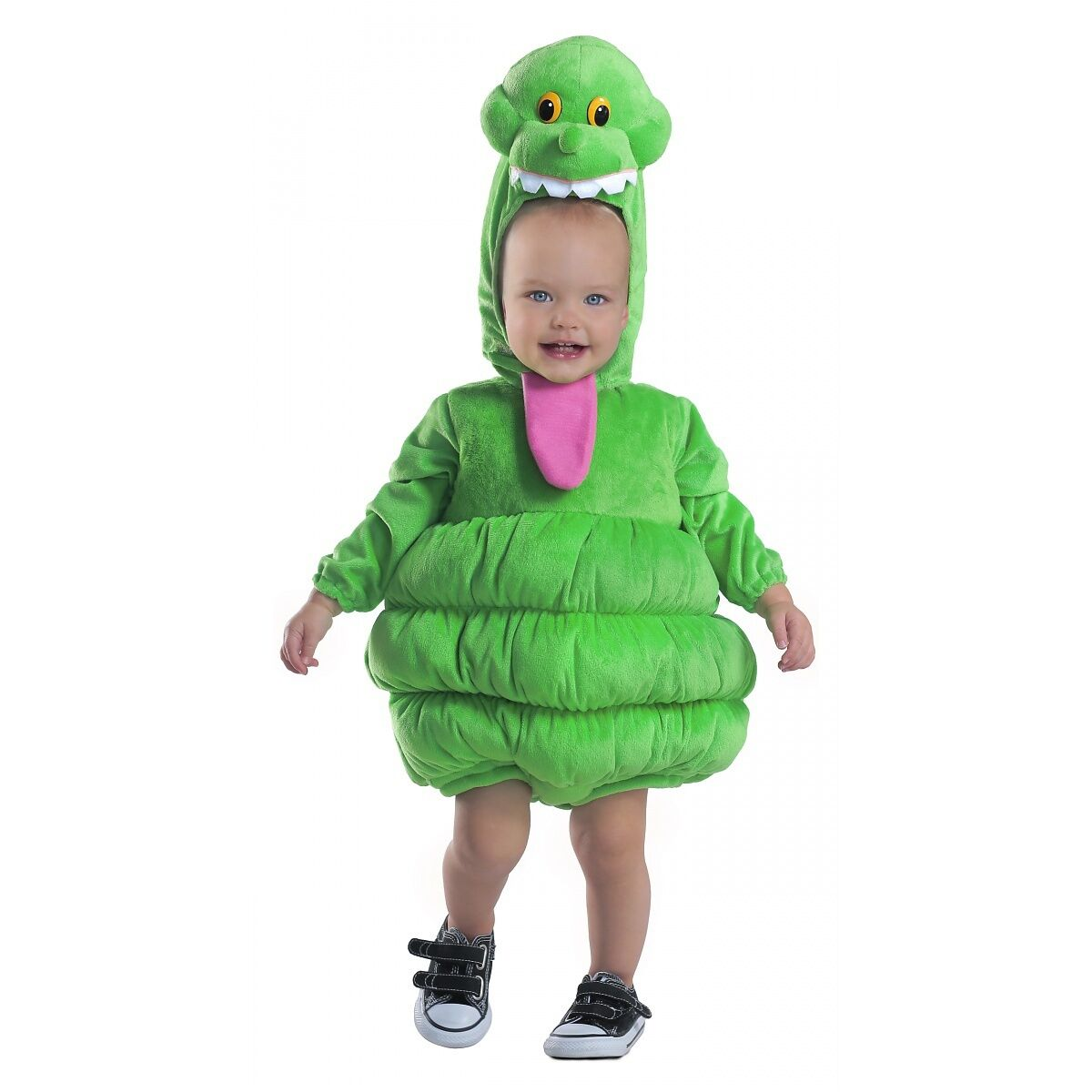 Ghostbusters Slimer Costume Halloween Fancy Dress For Kids