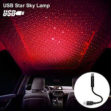Usb Car Interior Roof Atmosphere Light Led Romatic Projector Star Sky Night Lamp