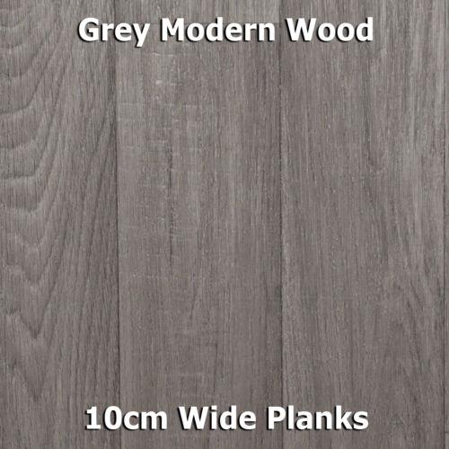 NEW Wood Plank Vinyl Flooring Roll Quality Lino Anti-Slip Kitchen Bathroom Cheap