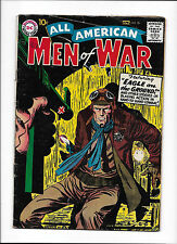 """ALL AMERICAN MEN OF WAR  #56  [1958 VG-FN]  """"EAGLE ON THE GROUND!"""""""