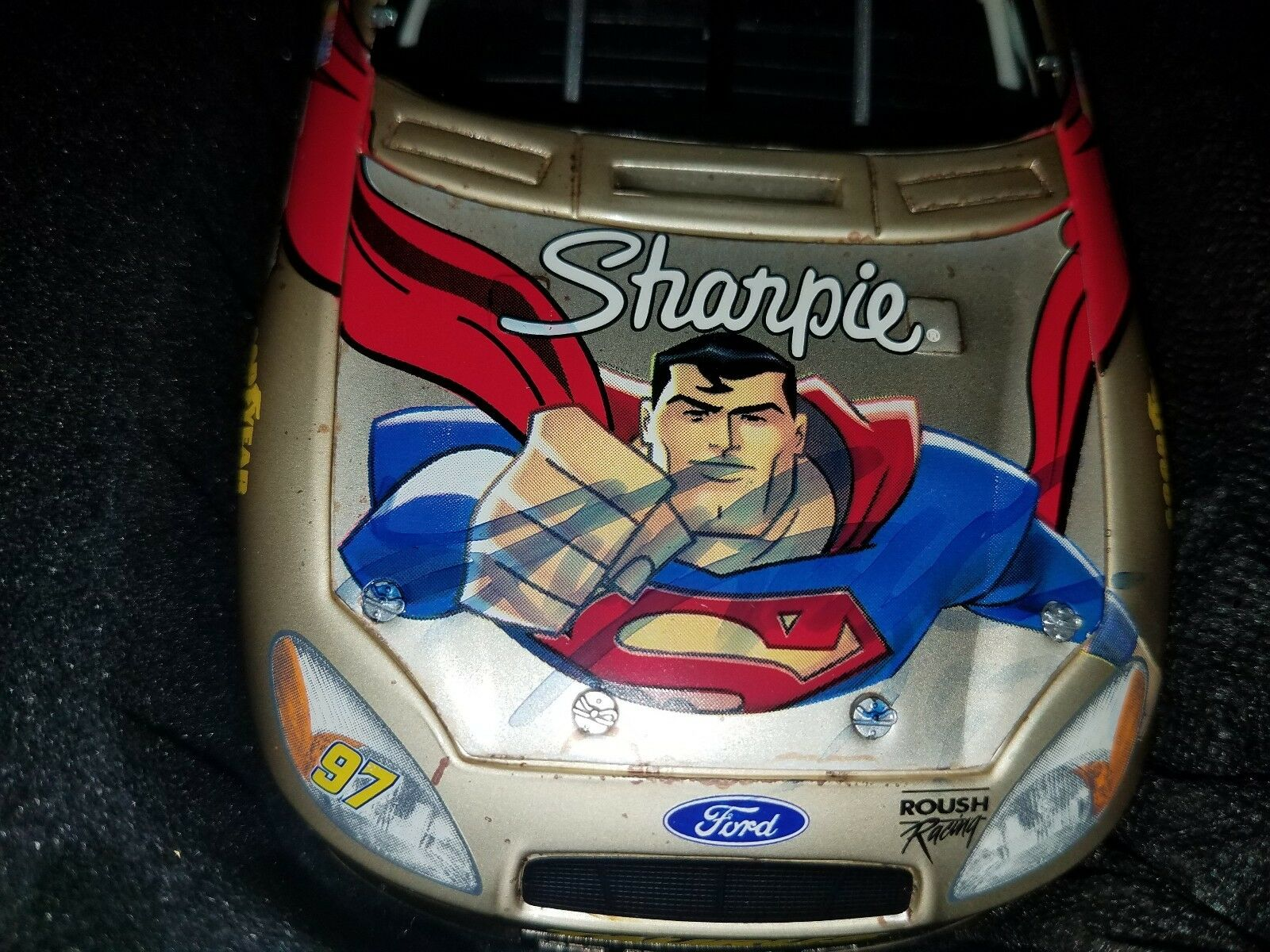 2004 2004 2004 Kurt Busch Superman 1 24 Team Caliber Owners Pearl Diecast RARE 737a86