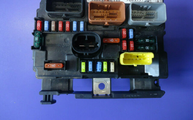 peugeot 206 cc allure petrol under bonnet fuse board bsm b3 9657608780 for  sale online | ebay  ebay