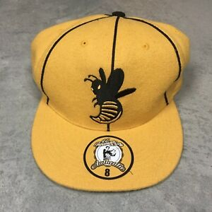 BOSTON-BLACK-BEES-JC-Freeman-amp-Son-Wool-Hat-Size-8-Fitted-NEGRO-LEAGUE-VTG-Y2K