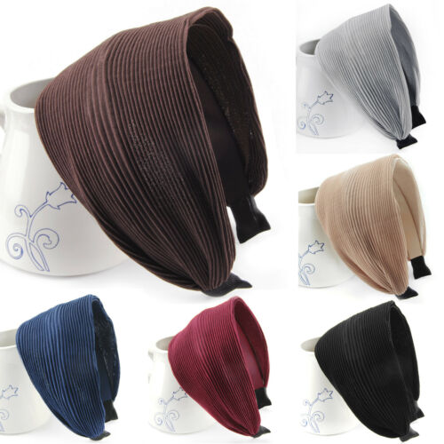 Breiter Stoff Haarreif-Serie 30-Wunderschön-Haarband Vintage Haarschmuck