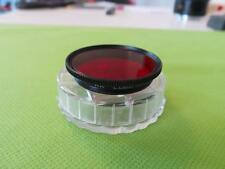 LEICA/LEITZ GFOOH LEICA E36/36MM RED FILTER LEICA 50MM/5CM F2 SUMMITAR DARK RED