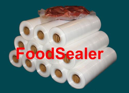 "5Mil 10 Rolls 11"" x 52.5Ft FoodSealer FoodSaver Weston Vacuum Sealer Storage Bag"