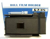 Toyo (toyo-view) 67 / 45 (6x7 / 45) Film Holder / Film Back