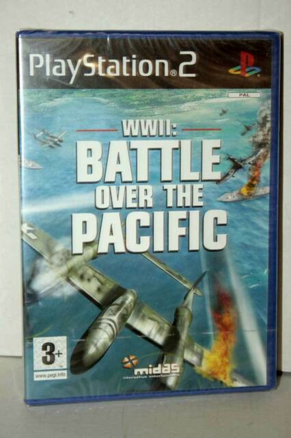 WWII BATTLE OVER THE PACIFIC GIOCO NUOVO SONY PS2 EDIZIONE INGLESE GS1