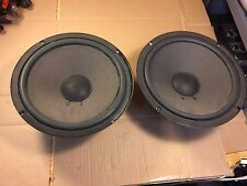 """Pair of Vintage Acoustic Research 10"""" Woofers from AR48 BX Speakers 1-2100400B"""