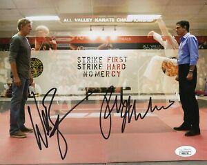 William-Zabka-Ralph-Macchio-Autograph-Signed-8x10-Photo-Cobra-Kai-JSA-COA