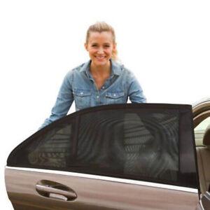 1Pair Car Front Side Window Sunshade Mesh Anti-UV Baby Protector Sun Shade Cover