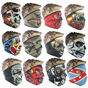 Cool Balaclavas Neoprene CS Winter Neck Warm Face Mask Veil Sport Motor Ski Bike