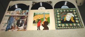 Lot of 3 Brian Eno LPS - Warm Jets - Taking Tiger Mountain - Another Green World