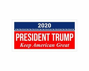 5 Pack *Oval Car Magnet* Trump 2020 President Trump Keep America Great TO431