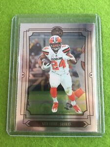 NICK-CHUBB-CHROME-CARD-Baker-Mayfield-039-s-RB-CLEVELAND-BROWNS-SSP-2019-Legacy-25
