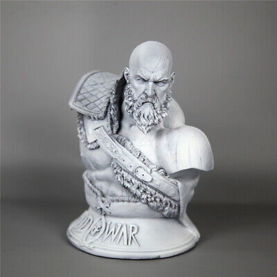 God of War 4 Kratos 1//3 Bust Resin H11*W9*7in Statue Model in Stock