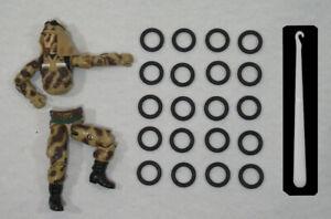 Kit-reparation-Gi-Joe-Lot-de-20-elastiques-NEUF-CROCHET-Expedition-24H-g-i-joe