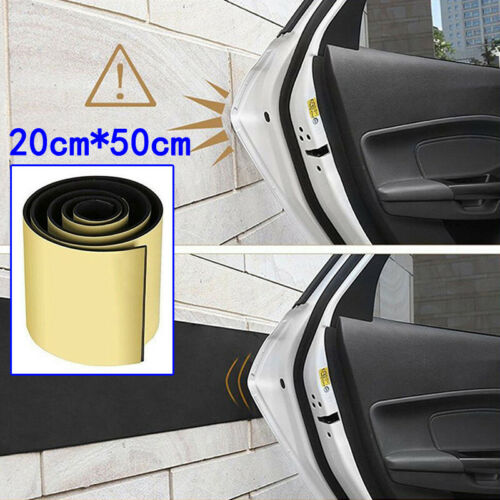 Car Doors Protection Mat Garage Rubber Wall Guard Bumper Safety Parking Sheet