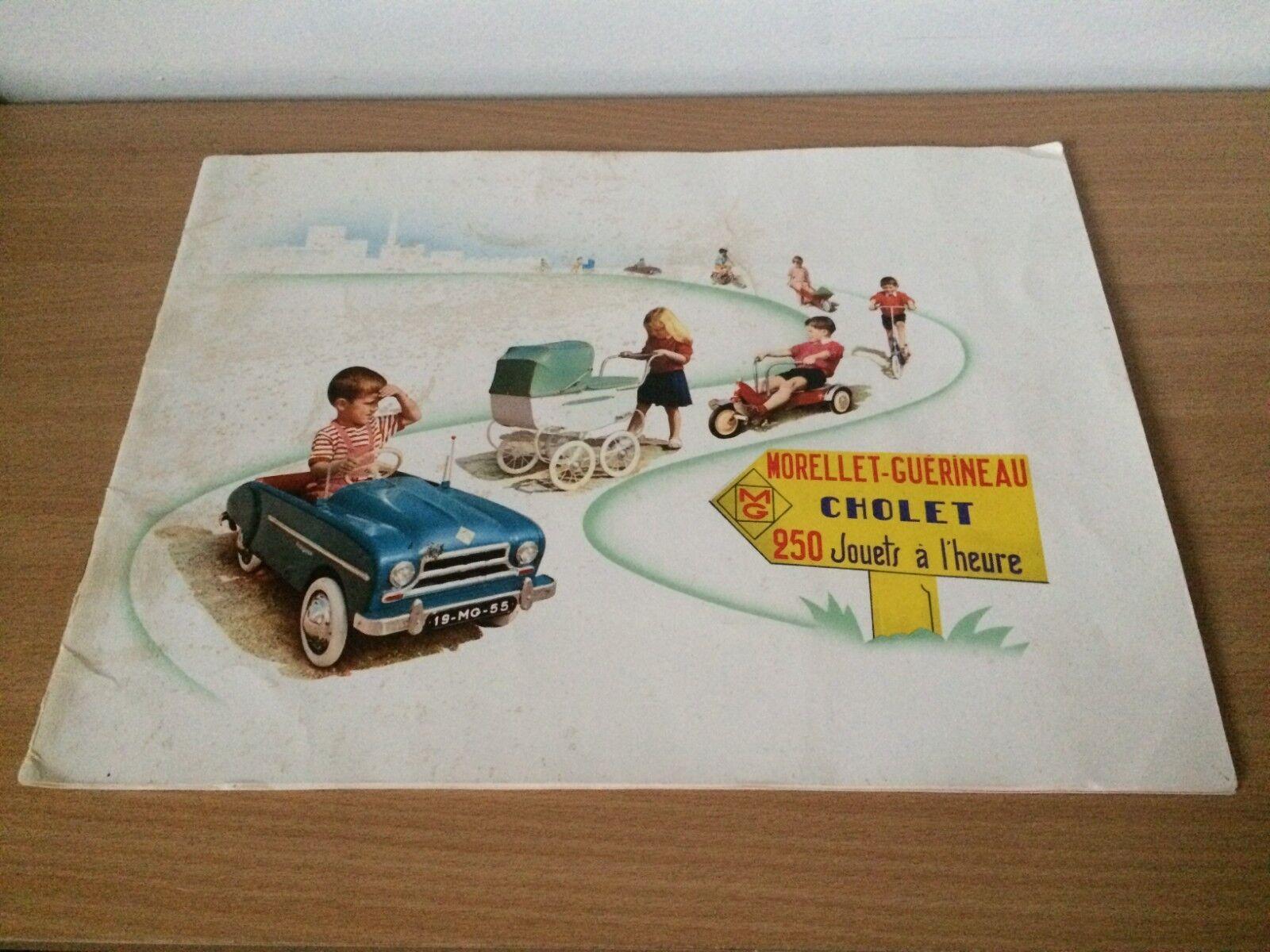 MORELLET GUERINEAU Voitures à Pédale / Jouets d' s s s //CATALOGUE Année 1954\\ f607cc